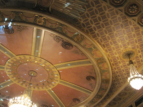 Theater ceiling