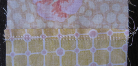 Plus Quilt Resewing seams