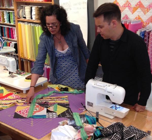 Improv auditioning fabrics