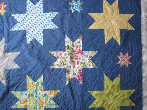 Quilting Sawtooth Star 1