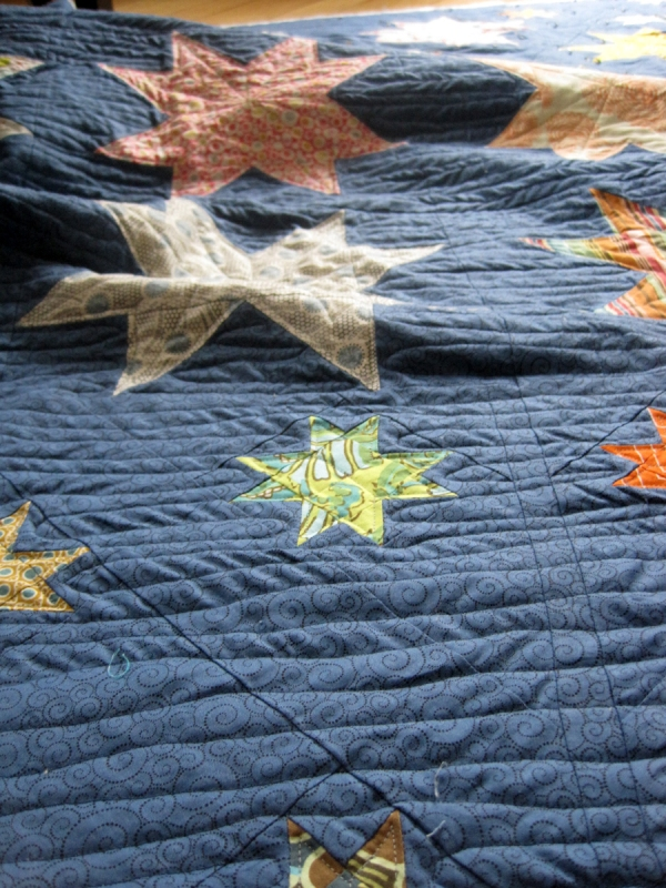 Quilting Sawtooth Star 2